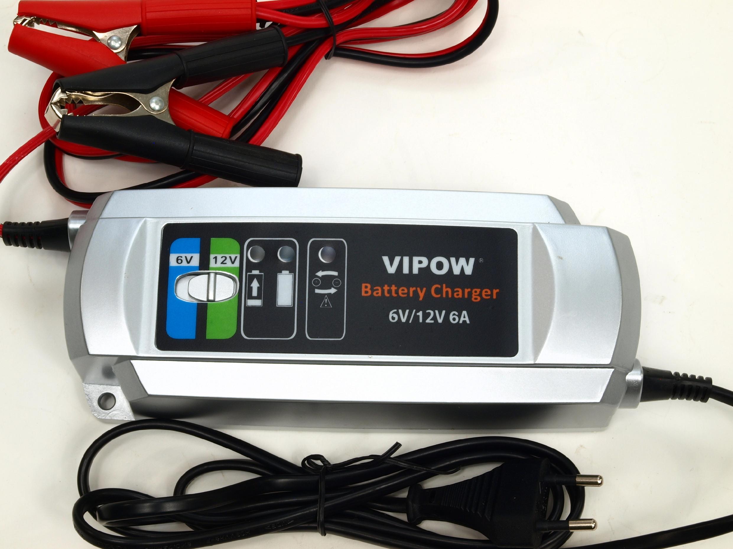 Nabíječka všech typů 6V a 12V baterií s kapacitou 12-150 Ah, plně automatická,