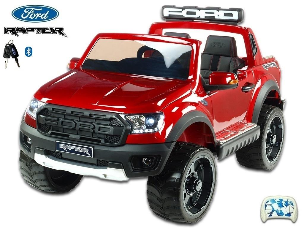 Ford Raptor s 2.4G, dvoumístný, vínová metalíza