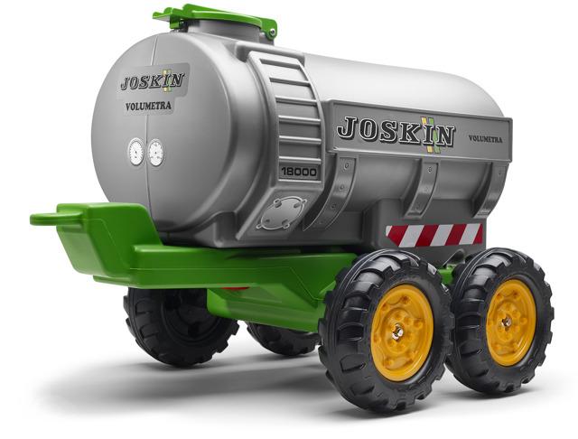 Elektrický traktor Kingdom s ovladatelnou nakládací lžící, mohutnými koly a konstrukcí, 2x motor 12V, 2x náhon, zelený