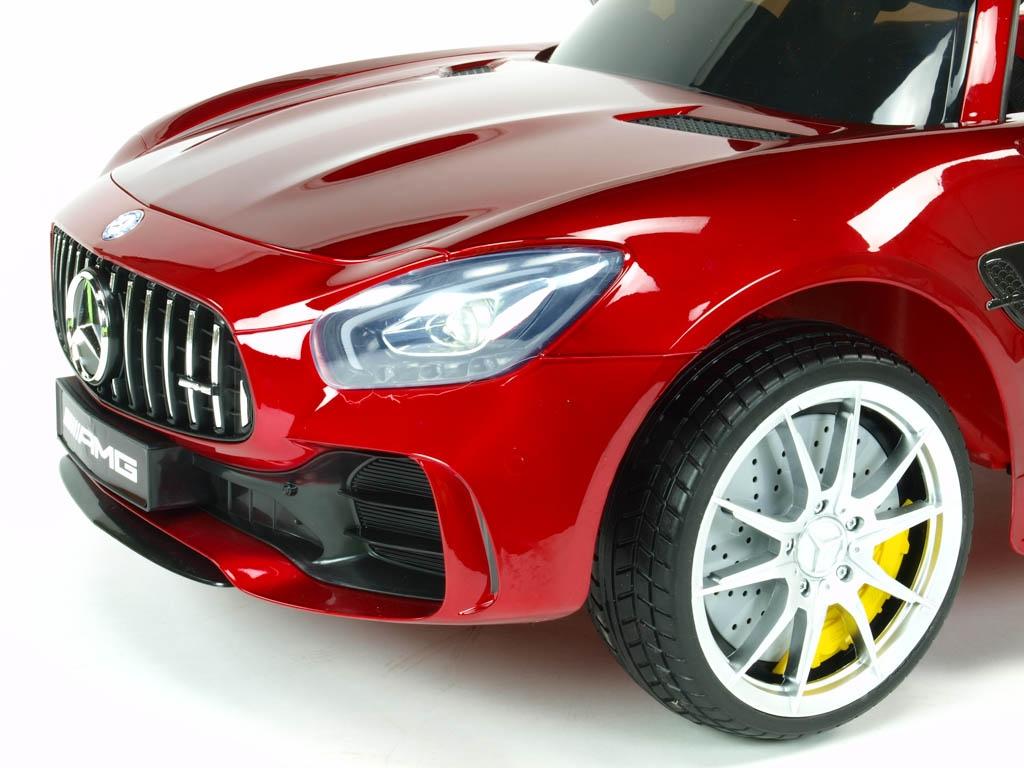 Mercedes AMG GT-R s 2,4G, jednomístný, vínová metalíza