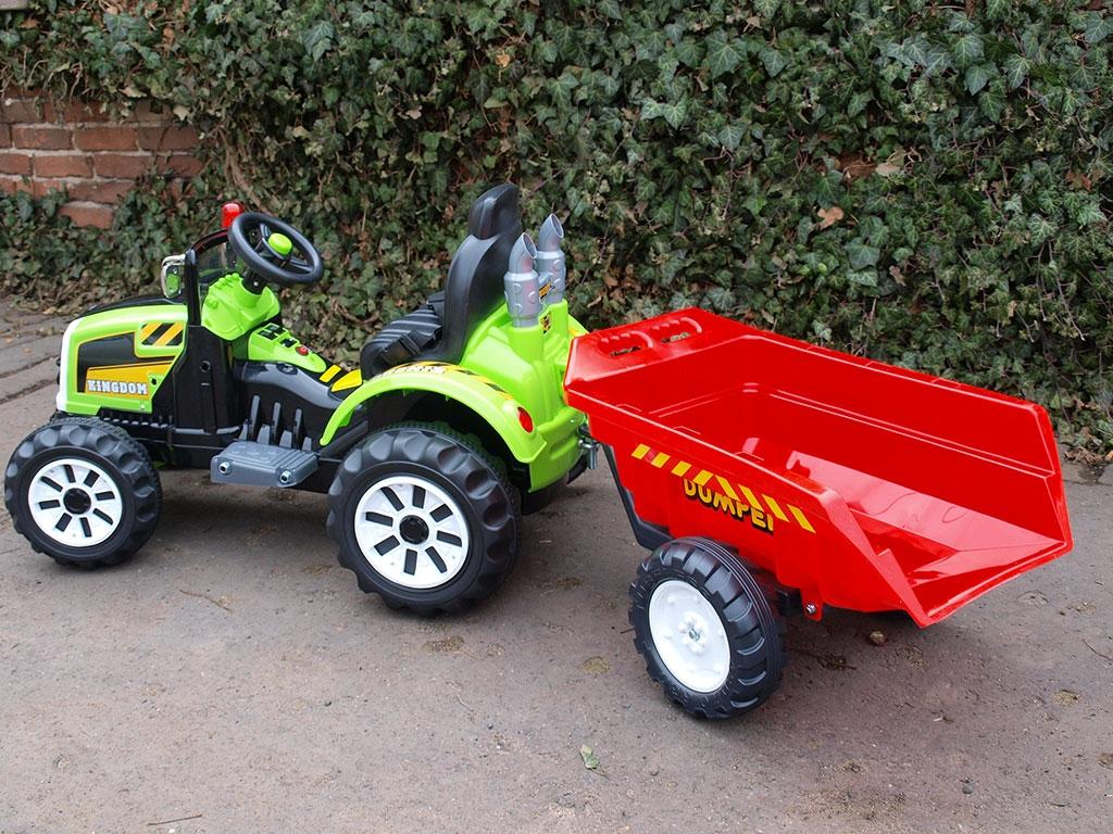 Možnost připojení vleků k traktorům Kingdom - přečtěte popis, info, prohlédněte foto