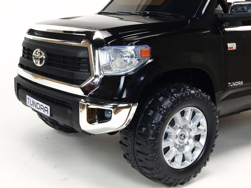 Toyota Tundra 24V s 2.4G, dvoumístná, největší elektrické auto, černá