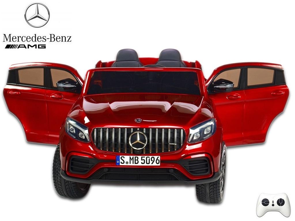 Mercedes GLC 63S AMG 4x4 s 2,4G, dvoumístný, vínová metalíza