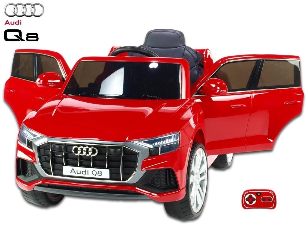 Audi Q8 s 2,4G, červené