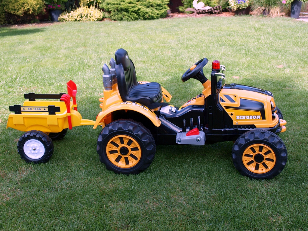Možnost připojení středních vleků Trailer k traktorům Kingdom - přečtěte popis, info, prohlédněte foto