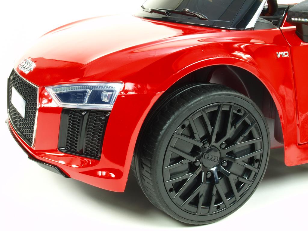 Audi R8 Spyder s 2.4G, červené