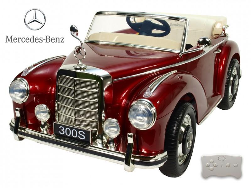 Mercedes-Benz 300S oldtimer vínový lakovaný