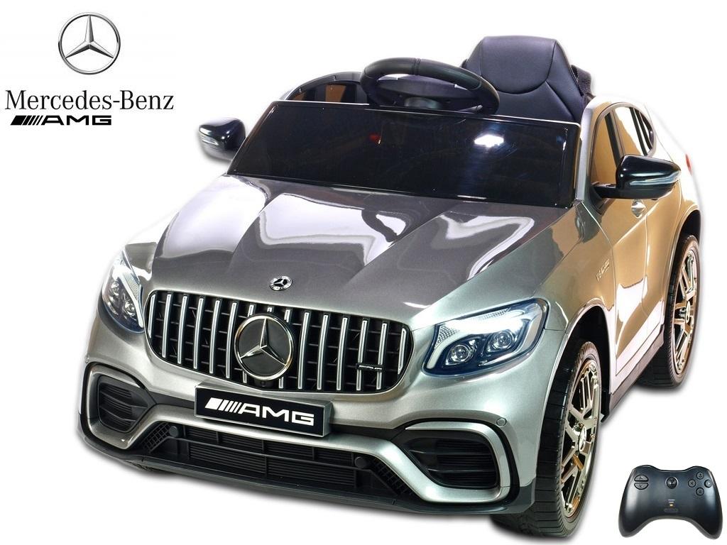 Mercedes GLC 63S AMG s 2,4G, jednomístný, stříbrná metalíza