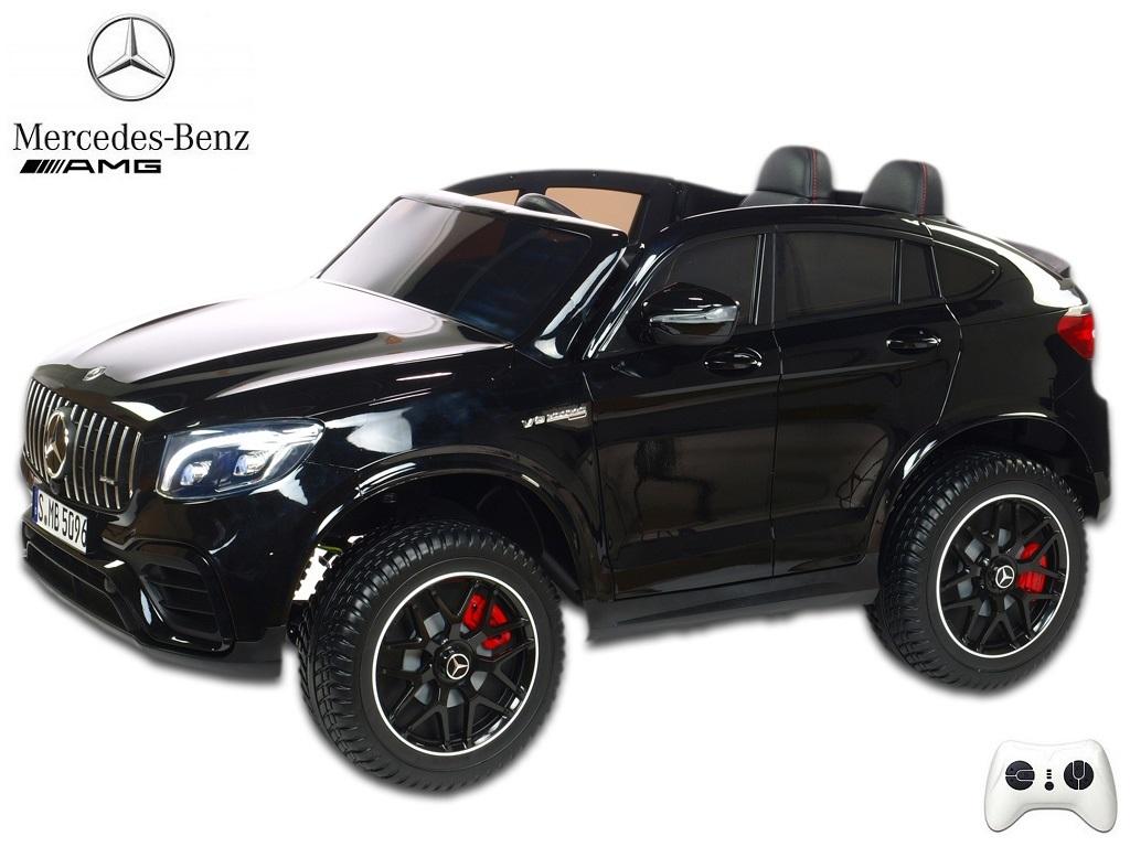 Mercedes GLC 63S AMG 4x4 s 2,4G, dvoumístný, černý