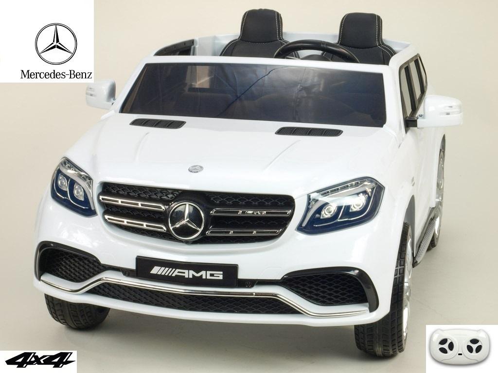 Mercedes GLS63 4x4 s 2,4G, dvoumístný, bílý lakovaný