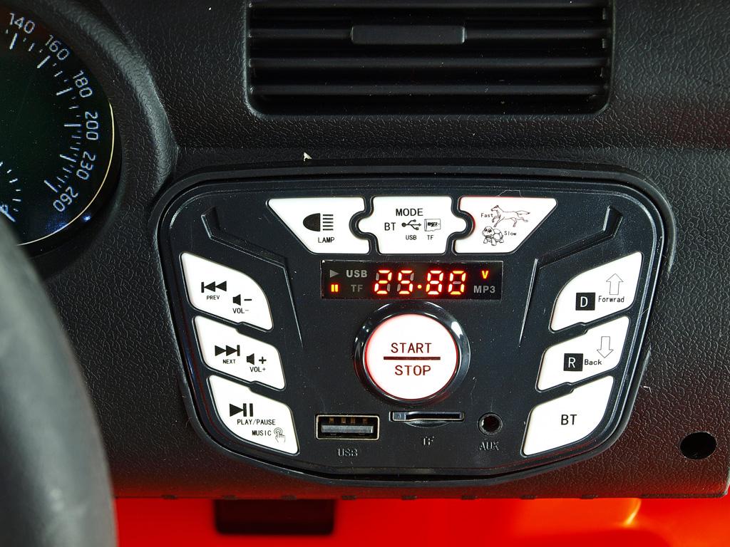 džíp Brothers s 2,4G, 24V/2x200W, zelený