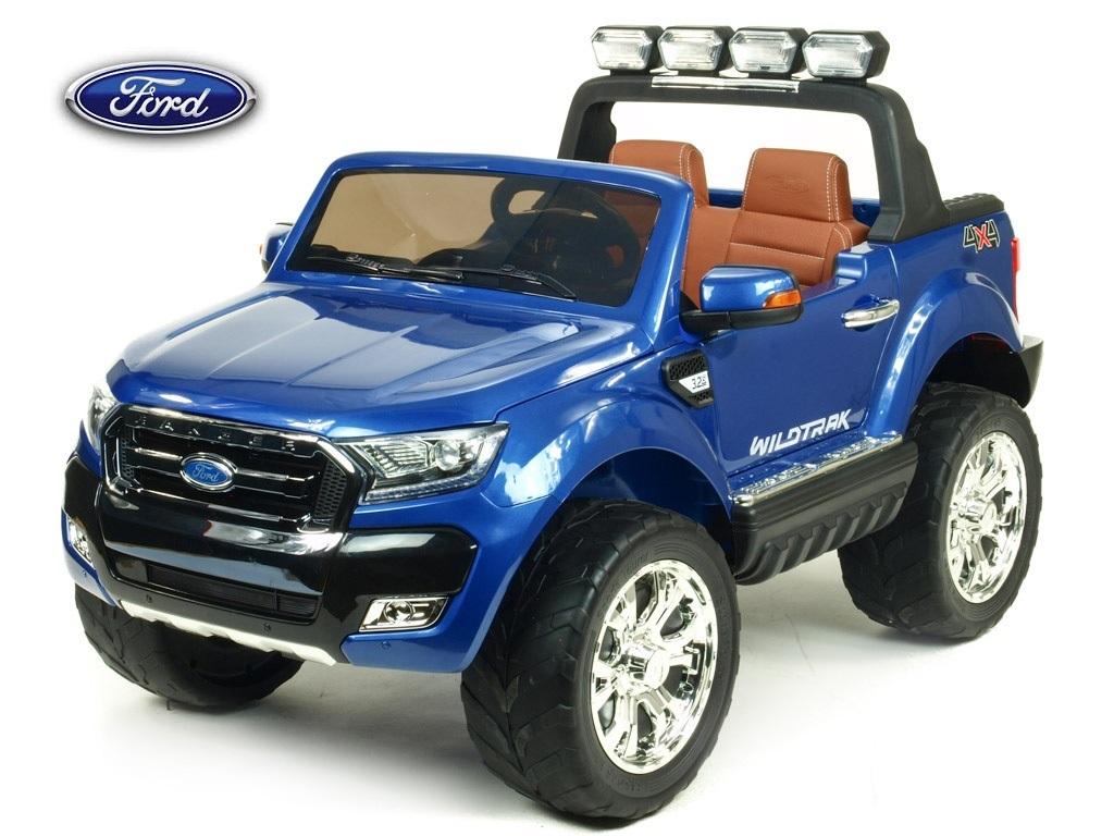 Ford Ranger Wildtrak s 2,4G, 4x4, dvoumístný, modrá metalíza