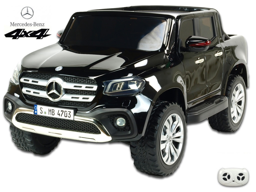 Mercedes – Benz X-Class 4x4 s 2,4G, dvoumístný, černá metalíza