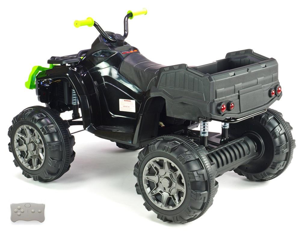 Čtyřkolka Predator XXL s 2,4G, výklopná korba, černozelená