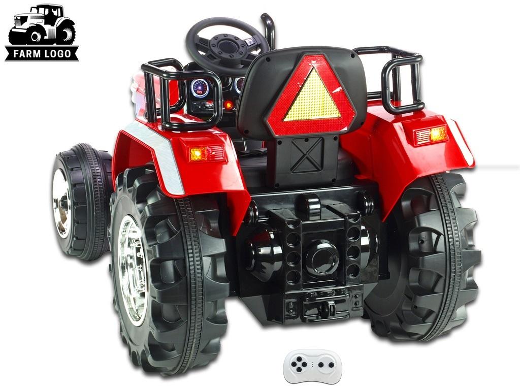 Big Farm s 2,4G, největší traktor, červený