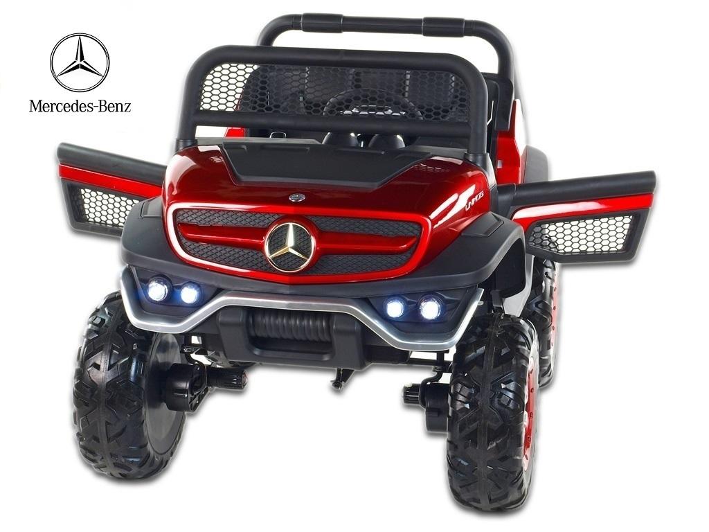 Mercedes Benz Unimog s 2,4G, 4x4, vínová metalíza
