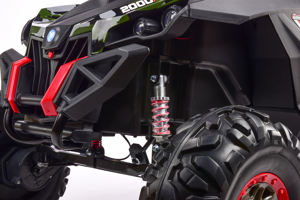 Bugina Xmen 4x4 s 2.4G, dvoumístná, polymer potah Camo army