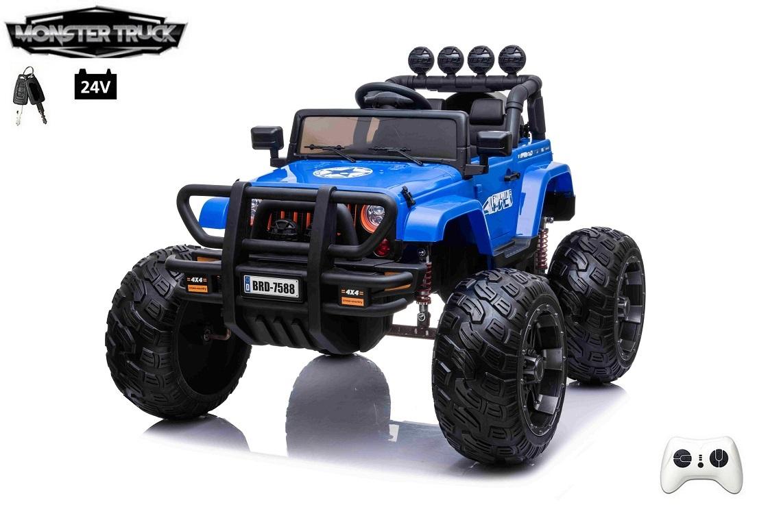 Wrangler Monster Truck s 2,4G, 24V/2x200W, modrý