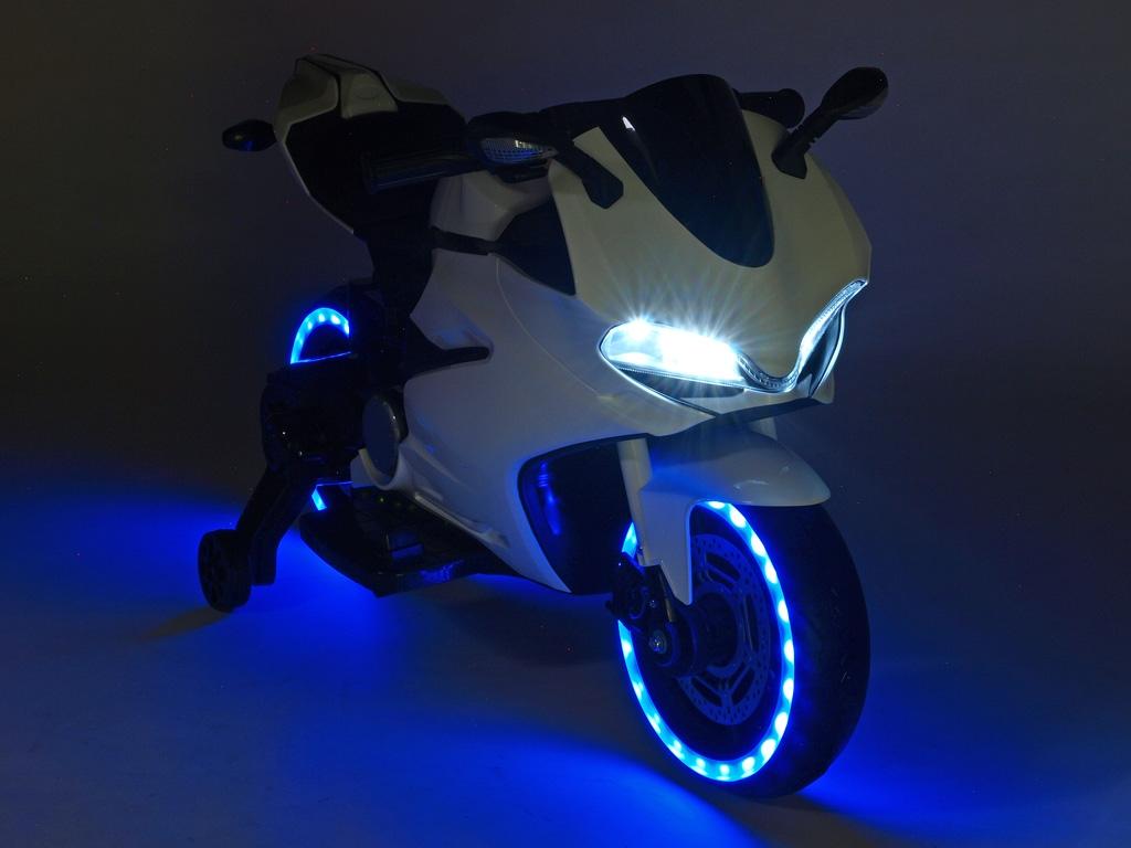 Závodní motorka Ninja s plynovou rukojetí a nožní brzdou, výběr 3 barev