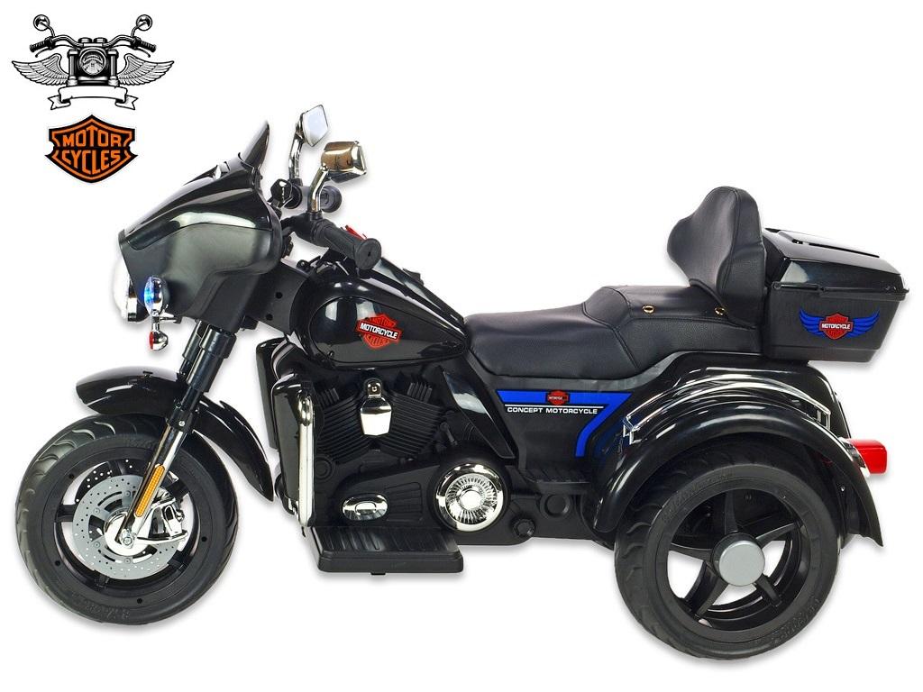 Motorka Big chopper Motorcycle, černý