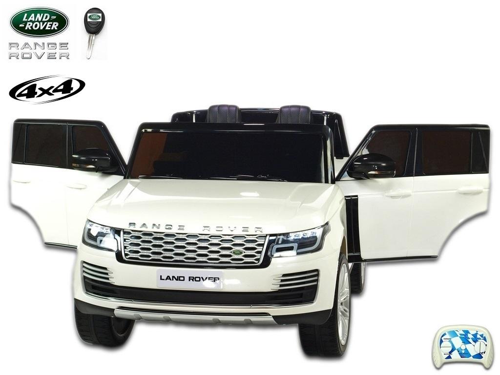 Land Rover Range Rover HSE s 2.4G, náhonem 4x4, lakovaný bílý