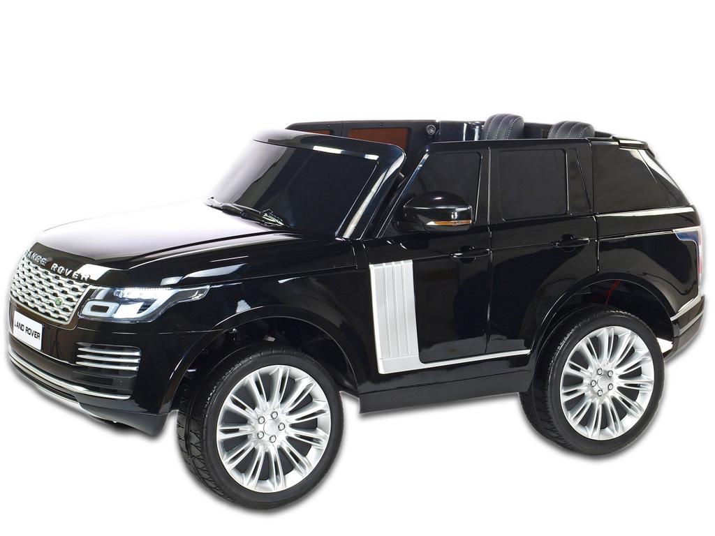 Range Rover HSE s 2.4G, náhonem 4x4, lakovaný černý