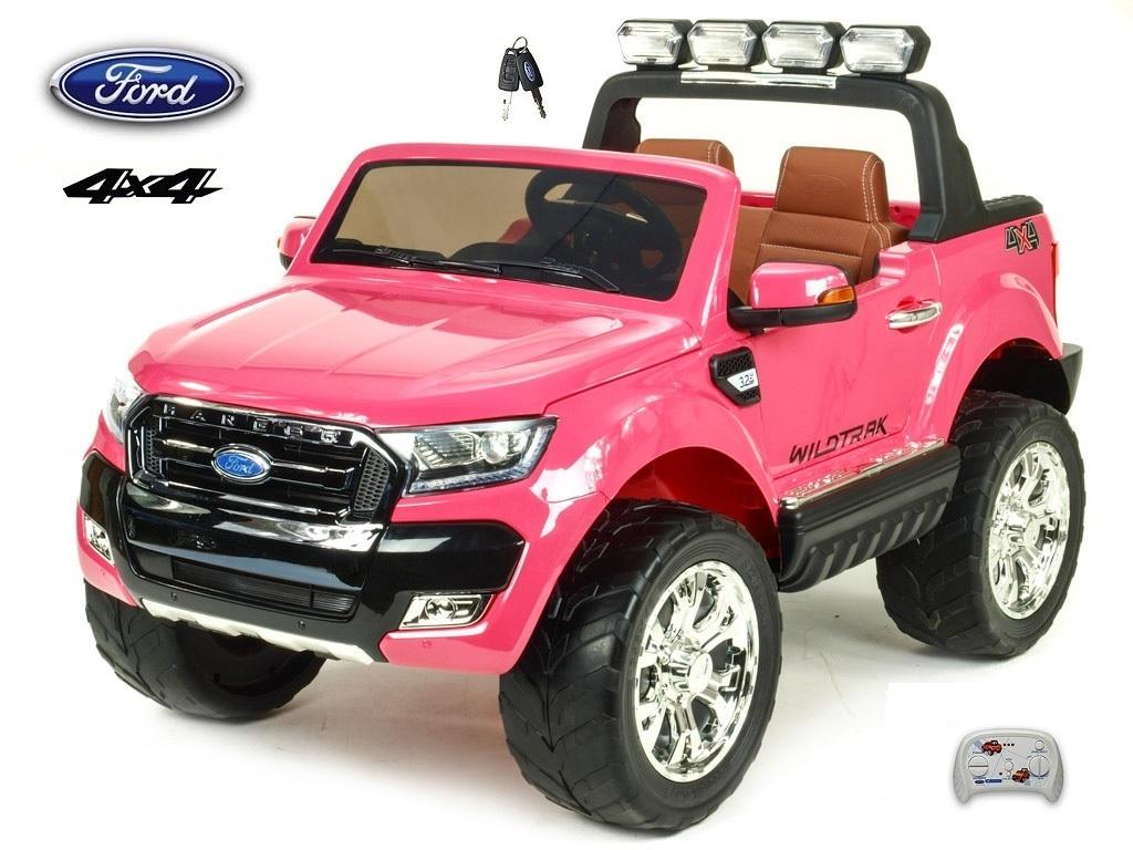 Ford Ranger Wildtrak s 2,4G, 4x4, dvoumístný, růžová metalíza