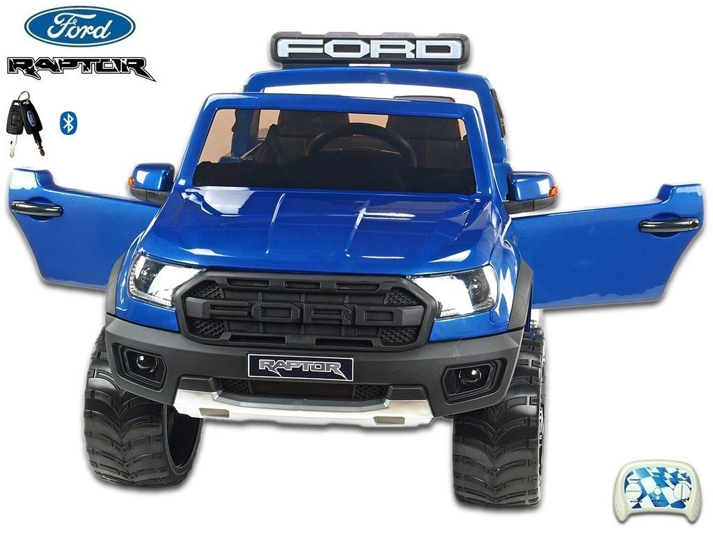 Ford Raptor s 2.4G, dvoumístný, modrá metalíza