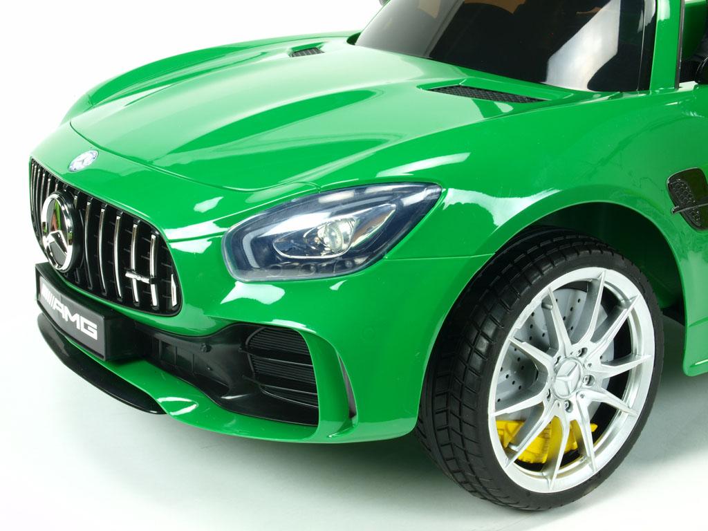 Mercedes AMG GT-R s 2,4G, jednomístný, lakovaný zelený