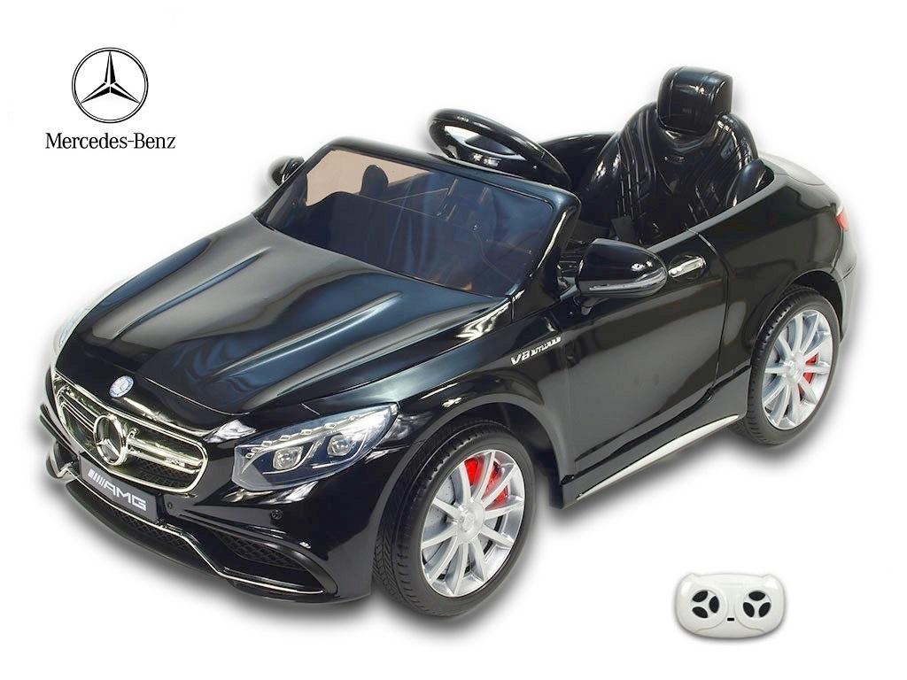 Mercedes - Benz S63 AMG s 2,4G, černý lakovaný