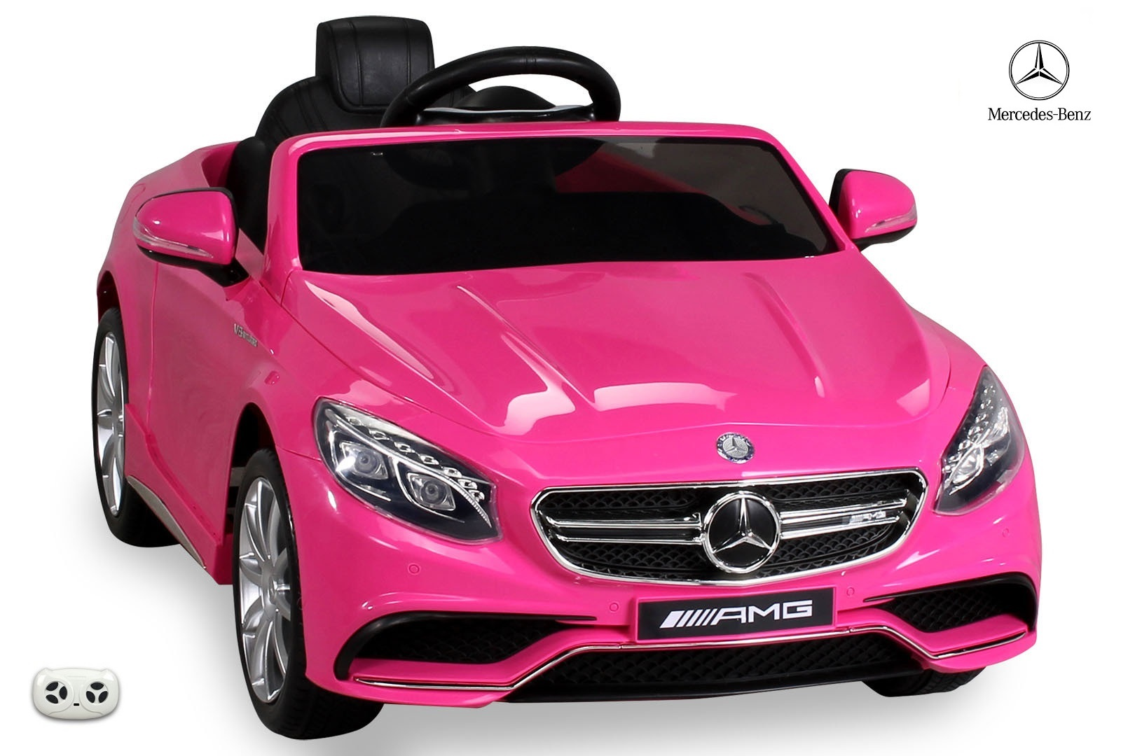 Mercedes - Benz S63 AMG s 2,4G, růžový lakovaný