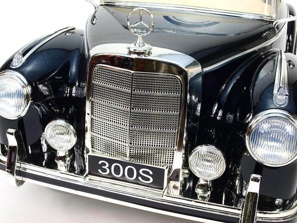 Mercedes-Benz 300S oldtimer s 2,4G, černá metalíza