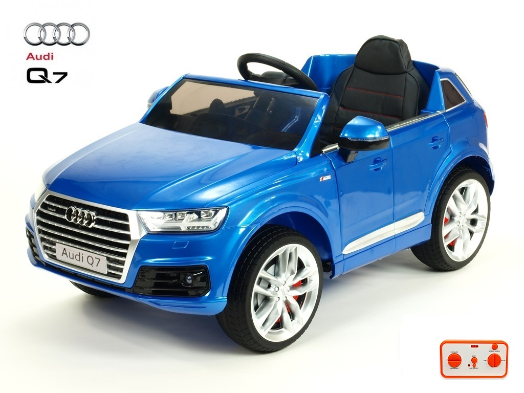 Audi Q7 NEW S-line s 2,4G, modrá metalíza