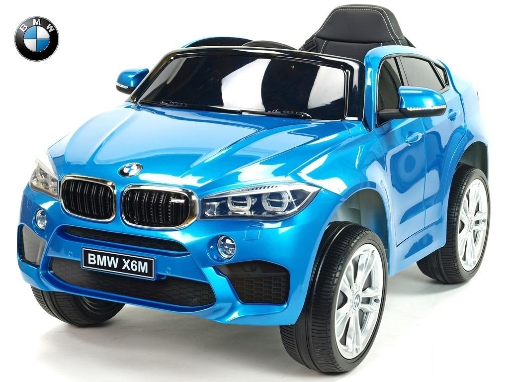 BMW X6M s 2,4G, jednomístné, modrá metalíza