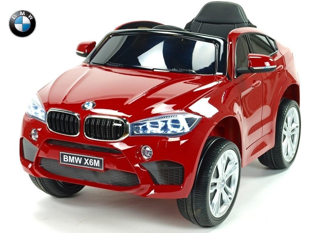 BMW X6M s 2,4G, jednomístné, červené