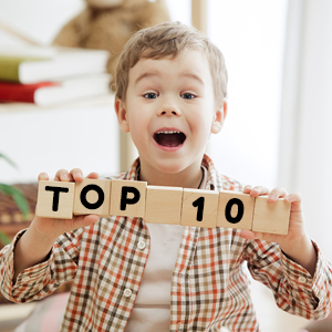 TOP 10 HRAČEK ROKU 2021