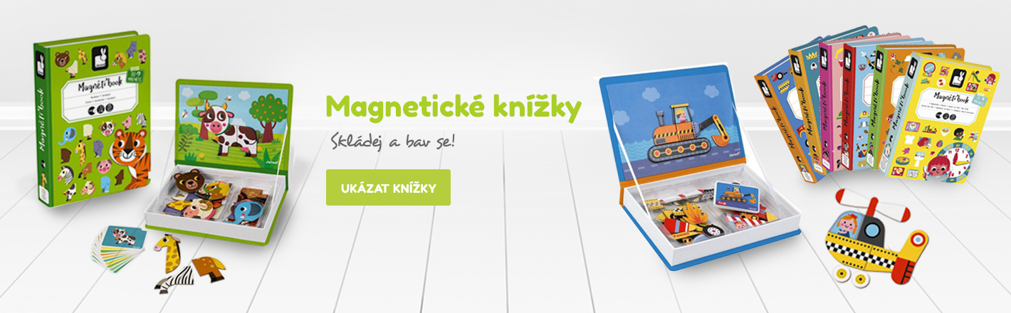 Magneticke knihy Janod