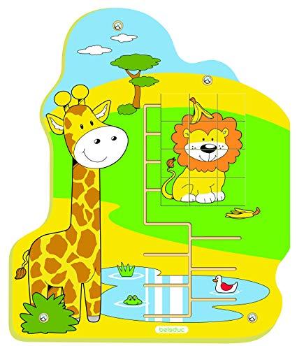 Výukové hry na zeď dětského pokoje