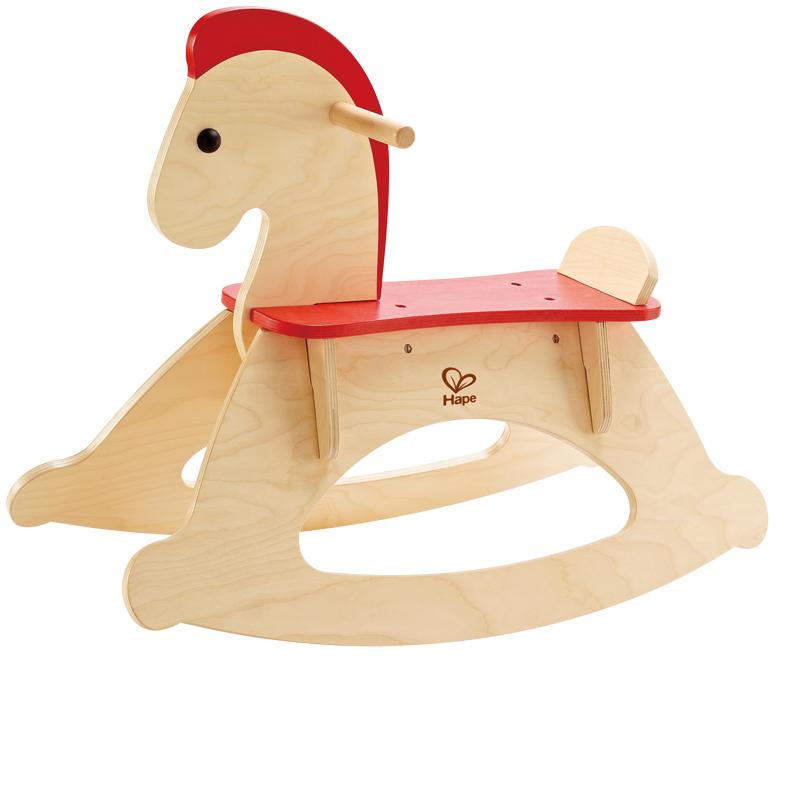 Dřevěné houpací hračky