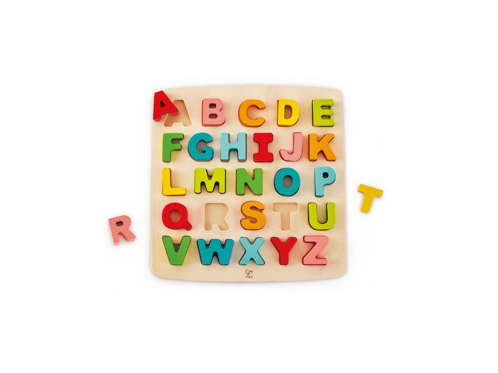1844 hape drevene puzzle abeceda velka pismena
