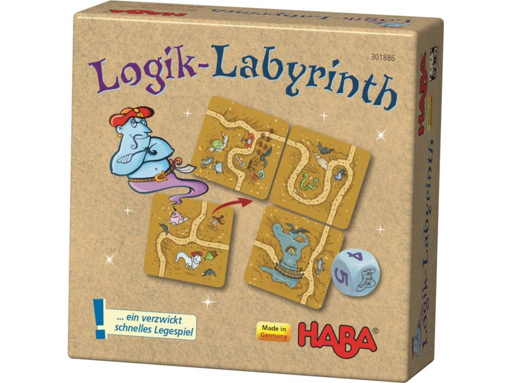 3065 haba stolni hra labyrint
