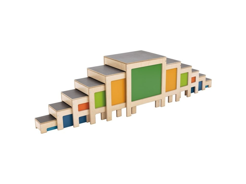 5195 poschodove stolicky barevne