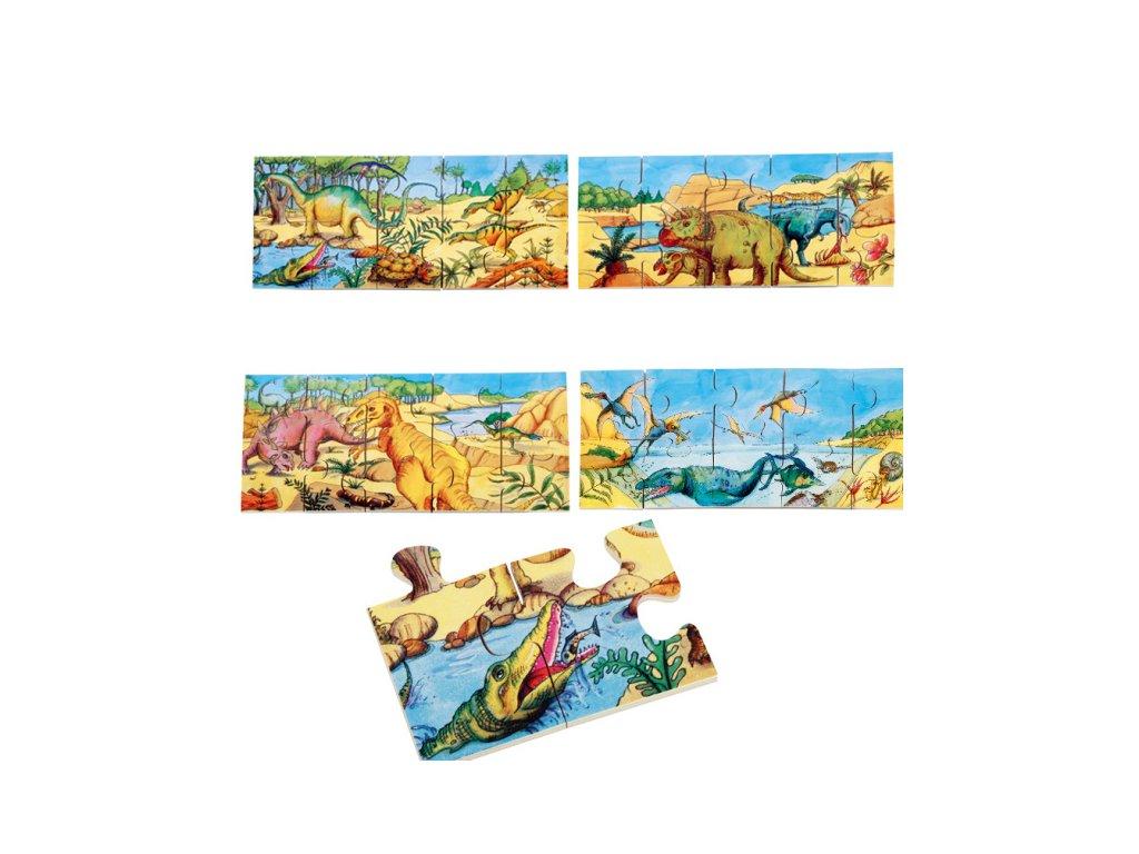 647 beleduc podlahove xxl puzzle dinosauri