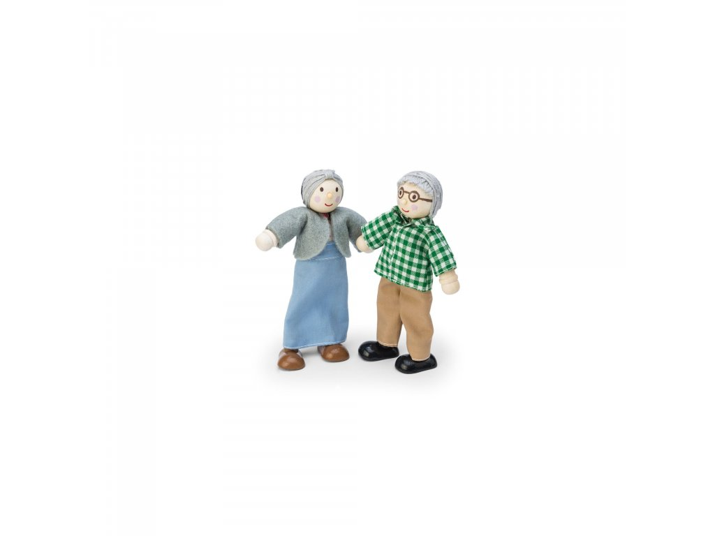 P056 Grandparents Dolls House Wooden