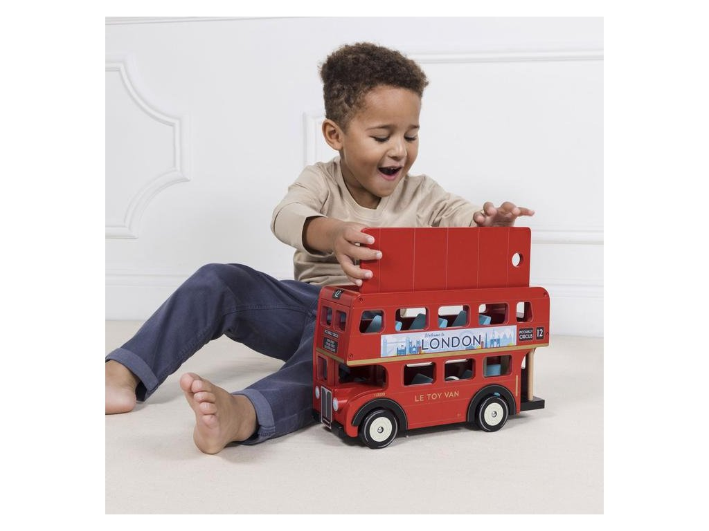 TV469 London Bus Red Classic Car