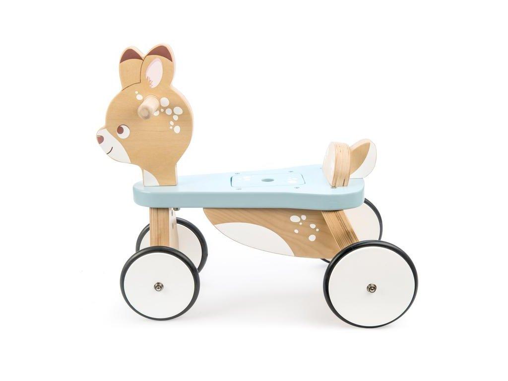 PL103 Ride on Deer Wooden Woodland Toddler Balance Bike