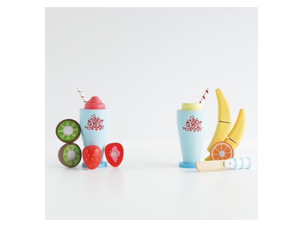 TV296 Blender Set Fruit Smoothie Wooden Toy