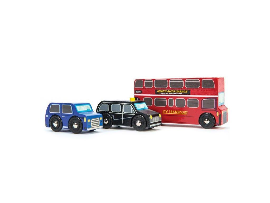 TV462 London Wooden Car Bus Taxi Cab