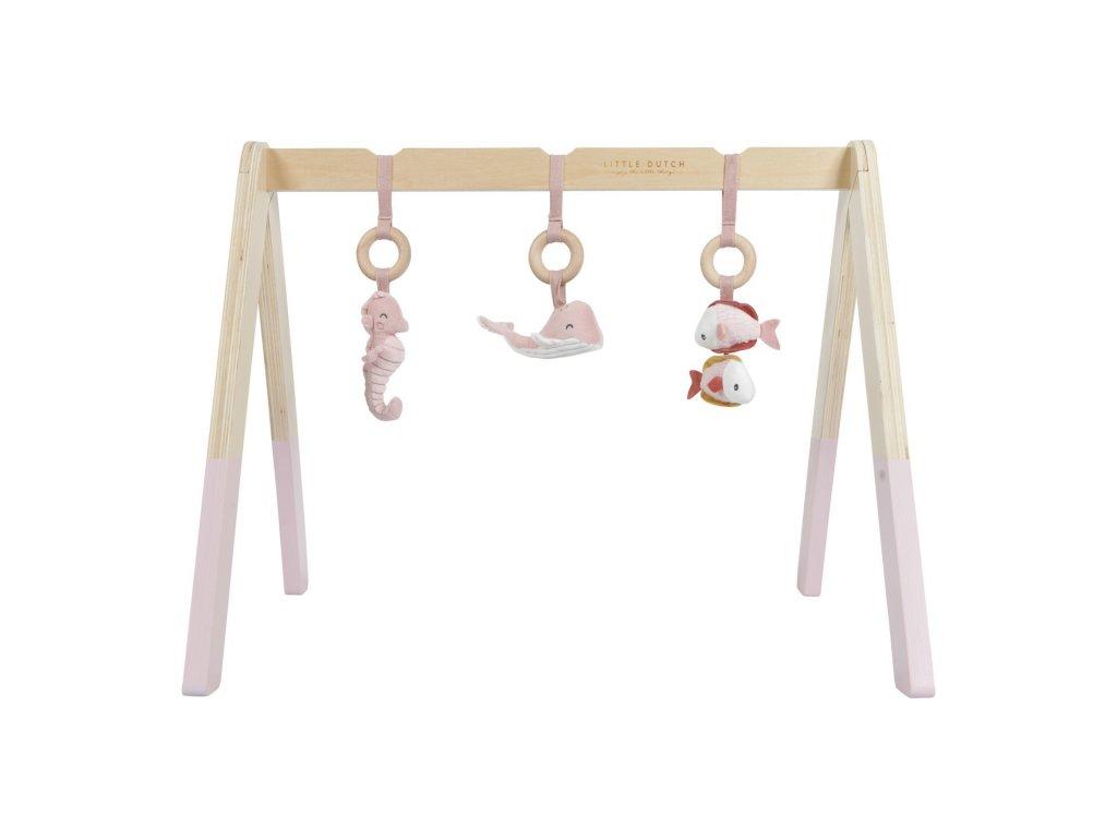 0004656 little dutch baby gym ocean pink pink 0