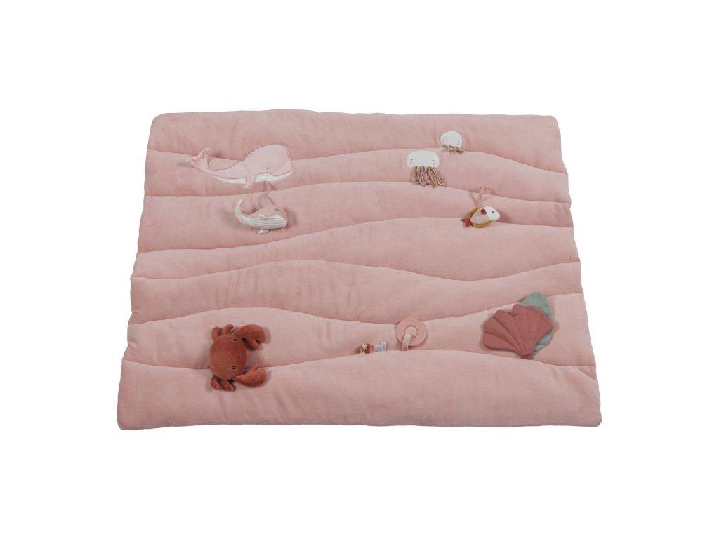 0004685 little dutch playpen mat ocean pink pink 0
